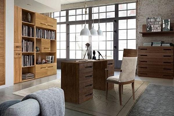Кабинет «Хедмарк» купить в салоне-студии мебели Барселона mnogospalen.ru много спален мебель Италии классические современные