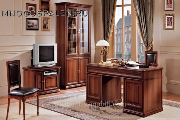 Кабинет Joconda орех MiassMobili купить в салоне-студии мебели Барселона mnogospalen.ru много спален мебель Италии классические современные